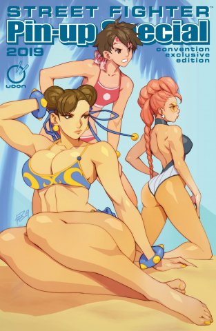 Street Fighter 2019 Pinup Special (June 2019) (Anime Expo Convention Exclusive)