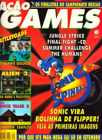 Acao Games Issue 039 (July 1993)
