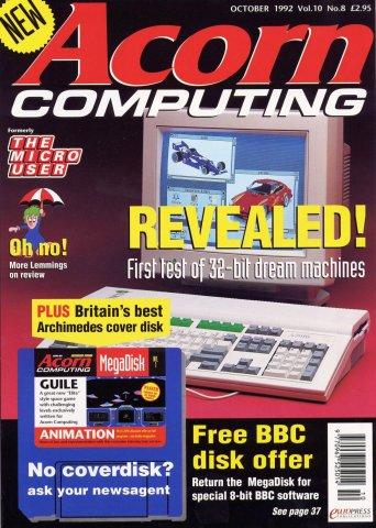 Acorn Computing Vol.10 No.08 (October 1992)