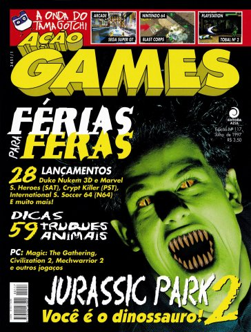 Acao Games Issue 117 (July 1997)
