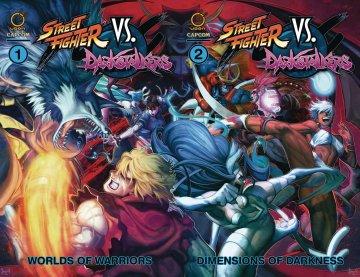 Street Fighter VS Darkstalkers TPB cover join