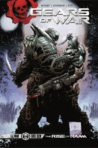 Gears of War: The Rise of Raam 004 (April 2018) (Cover B)