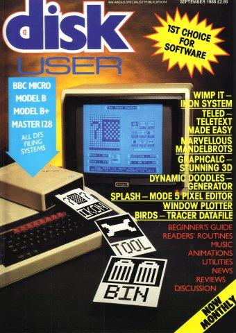 Disk User Issue 11 (September 1988)