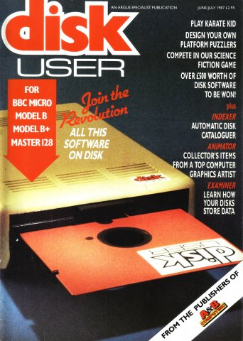 Disk User Issue 01 (June/July 1987)