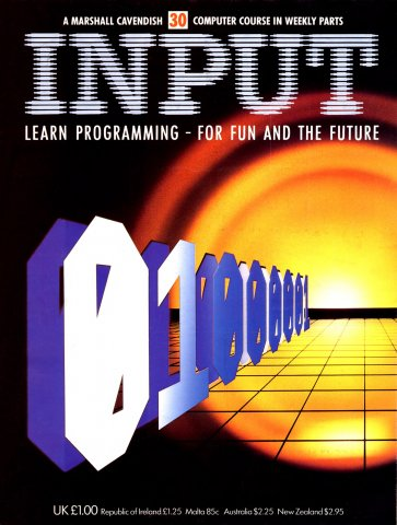 Input Issue 30 (1984)