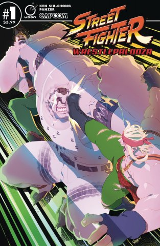 Street Fighter Wrestlepalooza (April 2019) (cover B)