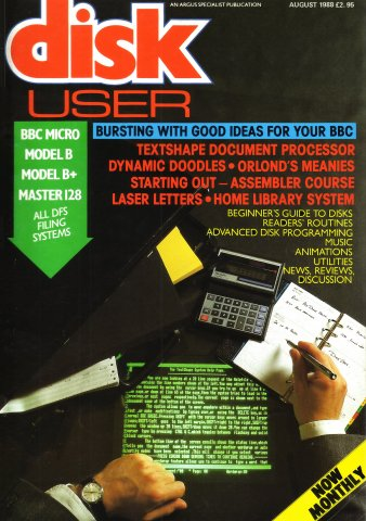 Disk User Issue 10 (August 1988)