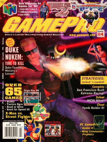 GamePro Issue 114 (March 1998)