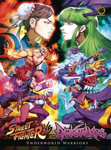 Street Fighter VS Darkstalkers HC - Underworld Warriors