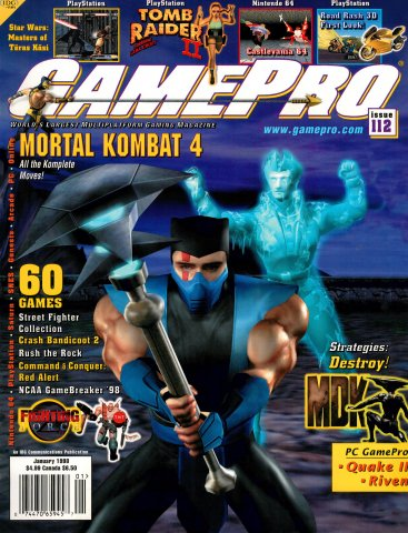 GamePro Issue 112 January 1998