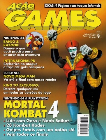 Acao Games Issue 130 (August 1998)