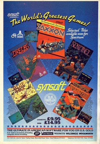 Zaxxon, Drelbs, Blue Max, Sentinel, Fort Apocalypse