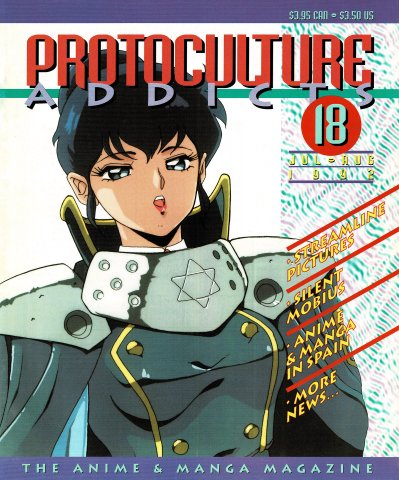 Protoculture Addicts Issue 018 (July-August 1992)