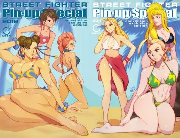 Street Fighter 2019 Pinup Special (June 2019) (Convention exclusives cover join)