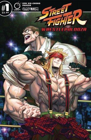 Street Fighter Wrestlepalooza (April 2019) (cover A)