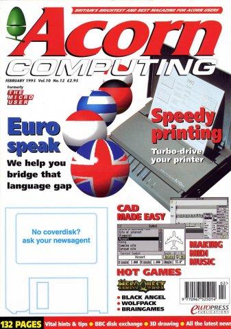 Acorn Computing Vol.10 No.12 (February 1993)