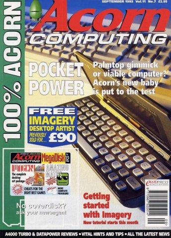 Acorn Computing Vol.11 No.07 (September 1993)