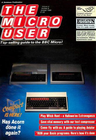 The Micro User Vol.04 No.08 (October 1986)