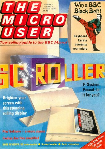 The Micro User Vol.03 No.08 (October 1985)