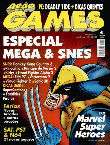 Acao Games Issue 111 (January 1997)