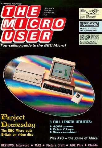The Micro User Vol.04 No.11 (January 1987)