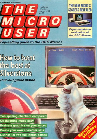 The Micro User Vol.04 No.01 (March 1986)