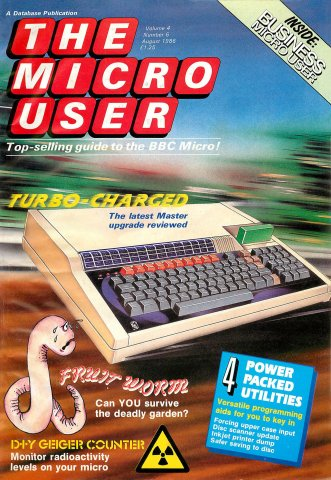 The Micro User Vol.04 No.06 (August 1986)