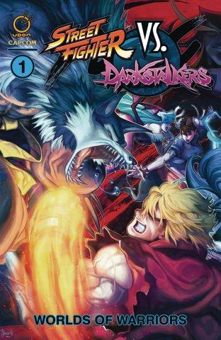 Street Fighter VS Darkstalkers TPB 1 - Worlds of Warriors