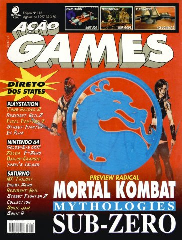 Acao Games Issue 118 (August 1997)