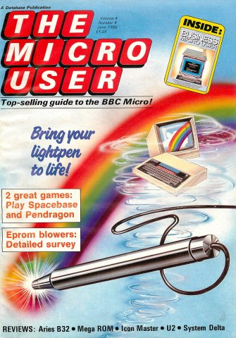 The Micro User Vol.04 No.04 (June 1986)