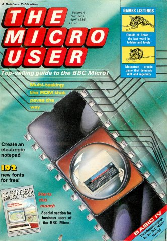 The Micro User Vol.04 No.02 (April 1986)