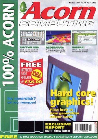 Acorn Computing Vol.11 No.01 (March 1993)