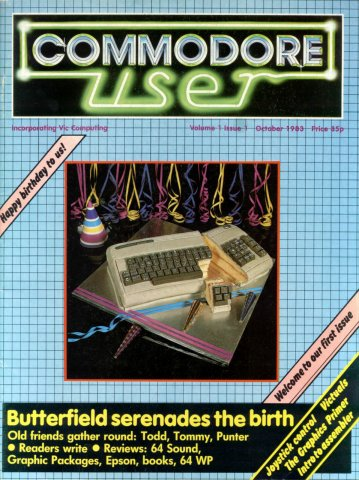 Commodore User Issue 01 (October 1983)