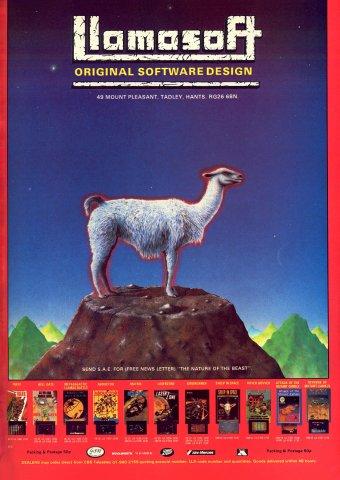 Llamasoft multi-ad (1984)
