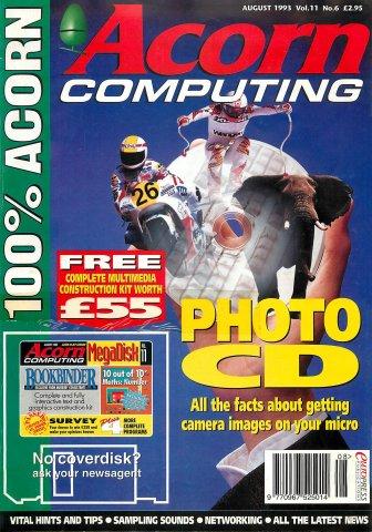 Acorn Computing Vol.11 No.06 (August 1993)