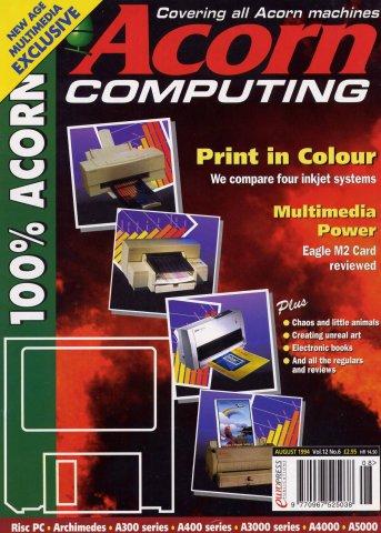 Acorn Computing Vol.12 No.06 (August 1994)