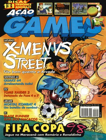 Acao Games Issue 124 (February 1998)