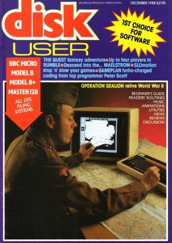 Disk User Issue 14 (December 1988)