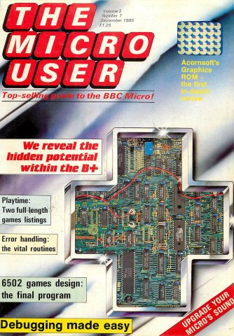 The Micro User Vol.03 No.07 (September 1985)