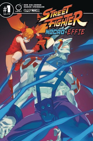 Street Fighter - Necro & Effie (July 2019) (cover A)