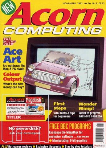 Acorn Computing Vol.10 No.09 (November 1992)