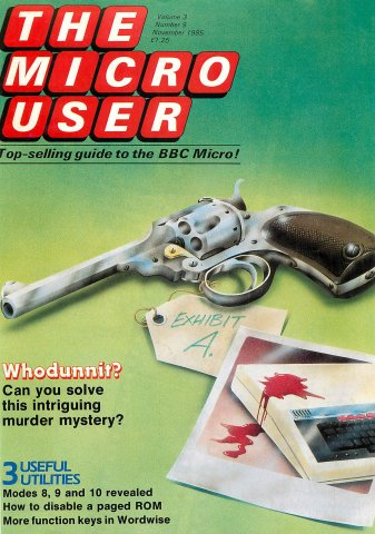 The Micro User Vol.03 No.09 (November 1985)