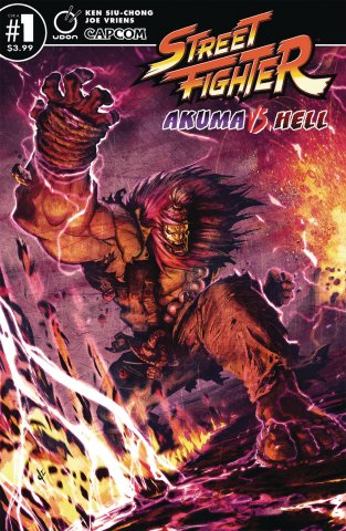 Street Fighter - Akuma vs. Hell (September 2019) (Cover A)