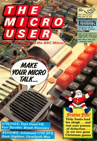 The Micro User Vol.04 No.10 (December 1986)