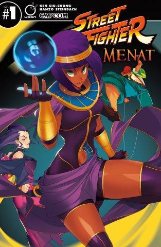 Street Fighter Menat (March 2019) (cover B)