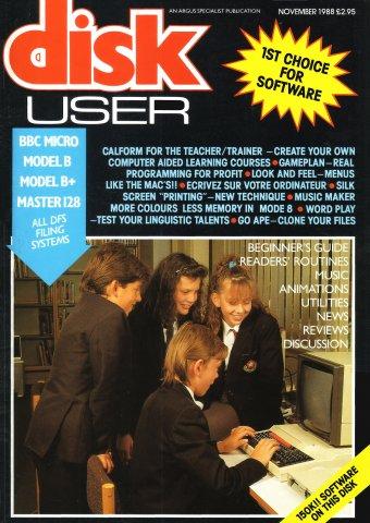 Disk User Issue 13 (November 1988)