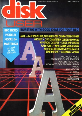 Disk User Issue 09 (July 1988)