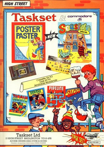 Poster Paster, Seaside Special, Jammin Special, Bozo's Night Out, Pipeline, Gyropod
