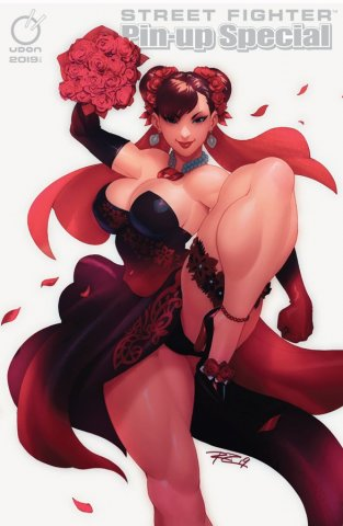 Street Fighter 2019 Pinup Special (June 2019) (Udon exclusive Shadow Bride cover)