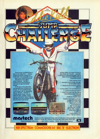 Eddie Kidd Jump Challenge
